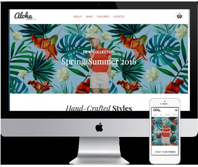 Aloha home page