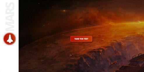 mars quiz home page